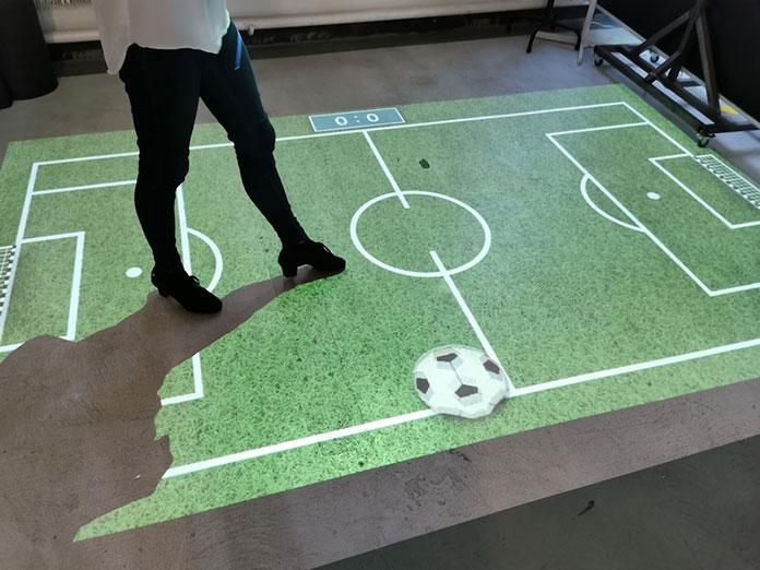 interaktywna podłoga